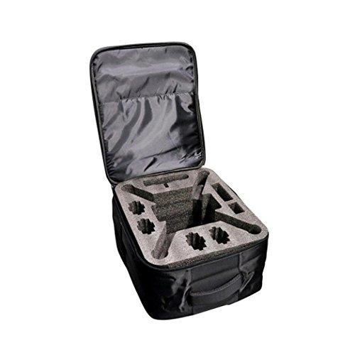 Fami-Borsa a tracolla per zaino antiurto per esterni Borsa morbida per XIAOMI Mi Drone 4K 1080P FPV RC Quadricotteri (Nero)