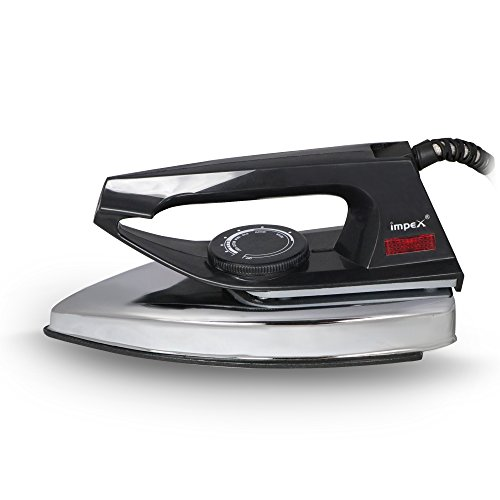 Impex Showy Light Weight Dry Iron Box (750 Watts,Black)