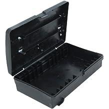 DeBuyer 2012.89 - Caja de almacenamiento para utensilios de cocina, color negro, 19.6 x