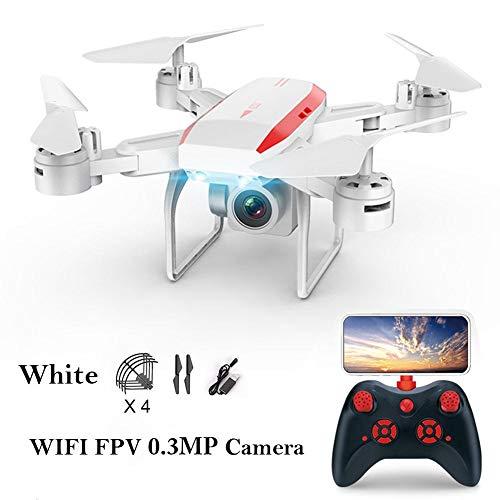 Forwei Faltbare Drone für ky606d mit hd4k hd vr 3D Modus Kamera Fernbedienung Drone Optical Stream höhe halten Headless Modus Funktion unterstützung Griff Fernbedienung und app Handy Steuerung