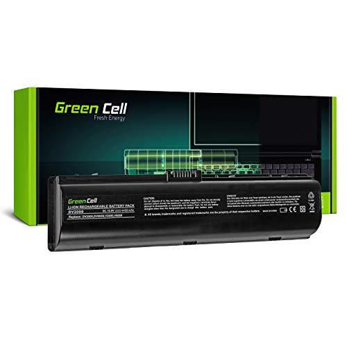 Green Cell Standard Serie HSTNN-DB42/HSTNN-LB42 Laptop Akku für HP Pavilion DV2000 DV6000 DV6500 DV6700 DV6800 DV6900 (6 Zellen 4400mAh 10.8V Schwarz) (Laptop Akku Dv6500)