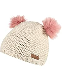b26d3285ae2 Regatta Girls Hedy Lux Hat Pom Pom Warm Walking Knitted Beanie Hat