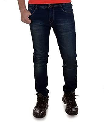 Ben Martin Men's Denim Jeans (Bmw007-Jj-3-Dbgt-30-01_Dark Blue With Green Tint_30)