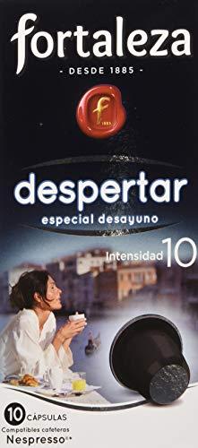Café Fortaleza - Surtido de Cápsulas de Café Despertar y Descafeinado Forte Compatibles con Nespresso...