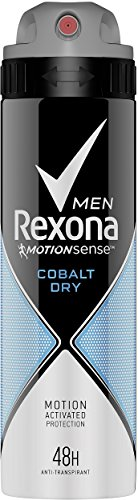 Rexona Men Deospray Cobalt Dry Anti-Transpirant, 150 ml, 6er Pack (6 x 150 ml)