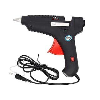 Lecimo Schnurlose Mini-Klebepistole, Verbesserter Heißklebepistolen-Stick, Professioneller Einstellbarer Schalter
