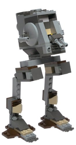 LEGO-Star-Wars-Imperial-AT-ST-with-Chewbacca-Mini-Figure-7127