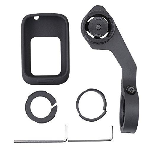Lixada Fahrrad GPS Computer Schützende Silikonhülle Schützen Haut Kasten Fahrrad Computer Halter Set für GPS Polar M450 für 31.8 mm Oder 25.4 mm Lenker -