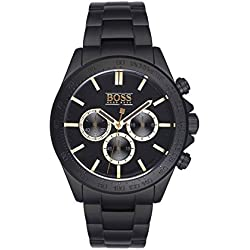 Hugo Boss 1513278 Black Out - Wristwatch men's, Stainless Steel, Band Colour: Black