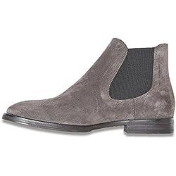 SELECTED FEMME Damen Sfbeathe Chelsea Suede Boot, Grau (Grey), 40 EU