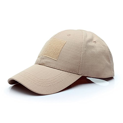 GES Tactical Hat Military Style Herren Armee Combat Betreiber Baseball Cap (Khaki) -