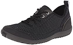 Clarks Womens Ibeeck Lace Walking Shoe, Black Mesh, 5. 5 M US