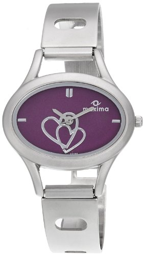Maxima Attivo Analog Purple Dial Women's Watch - 22164CMLI