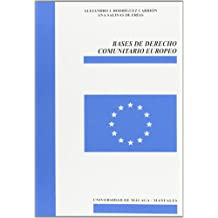 Bases de Derecho Comunitario Europeo (Manuales)