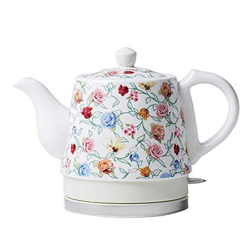 asserkocher Keramik Automatische Abschaltung Fast Boiling China Vintage Blauen Und Weißen Porzellan Stil 1.2l Kocht Wasser Schnell Für Tee Kaffee Suppe Haferflocken ()