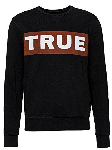 True Religion Sweatshirt Triangle Crew Sweat für Herren in Rosa, M