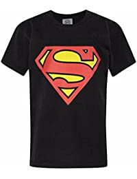 Superman Childrens/Boys Official Shield Logo T-Shirt