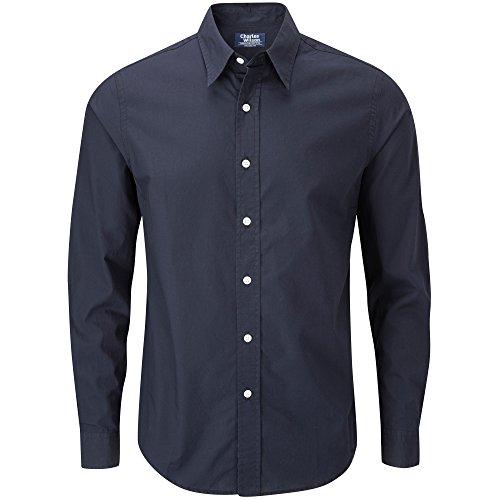 Charles Wilson Langärmliges Freizeithemd (XXX-Large, Marineblau)