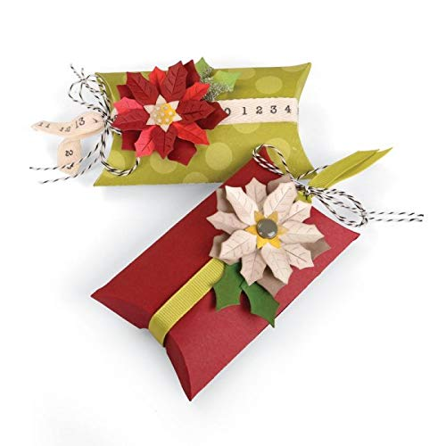 Sizzix Bigz Pro Fustella, Box Pillow & Poinsettias - 4