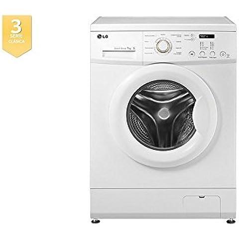 Lg lavadora carga frontal fh2c3qd1 7kg 1200 rpm a+++