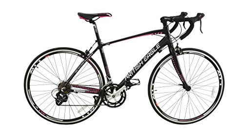 British Eagle Women's Elise Road Bike-Black/Pink, 12 Years