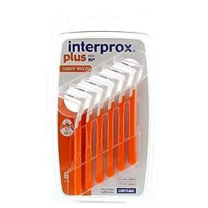 Interprox Plus Super Micro - 9723964 - Brossettes Interdentaires - Blister de 6 - Orange