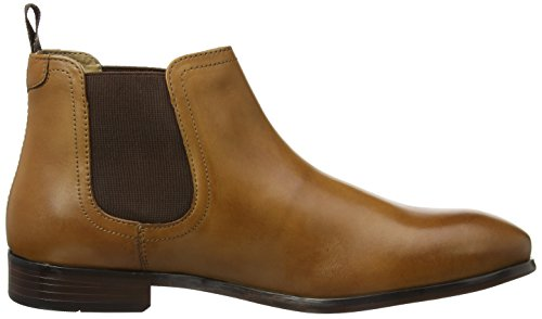 Red Tape Beeston, Bottes Chelsea homme Marron (Beige)
