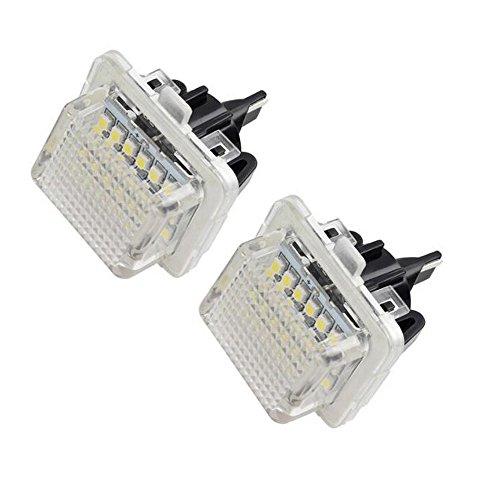 WEPECULIOR Auto-Rückseiten-Kfz-Kennzeichen-Lampen-Licht für B/ENZ W204 W212 W216 W221 W204 5D