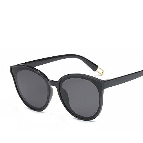 Aoligei Runde Sonnenbrille Korea Retro Auge Farbe sonnenbrille weiblich Flut Stern mit - Korea Männer Sonnenbrillen