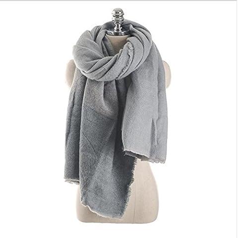 Donne caldo autunno foulard di cashmere sciarpa invernale , 5