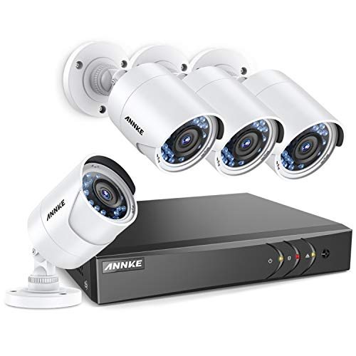 ANNKE 8+2CH 3 0MP 1920X1536 CCTV Security Systems and 4X 2 0MP Outdoor  Cameras with IR, 66ft Night Vision, Motion Detection, Easy Remote Access,  Email