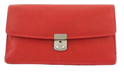 Unbekannt Davidt's Damen Schmucktasche Essentials Groß Rot
