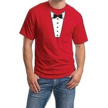 Bayside Barcelona Camiseta Estampada con Cuello Redondo y Mangas Cortas para Hombres
