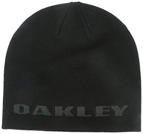 Oakley ROCKSLIDE Beanie Mütze, Jet Black, One Size Oakley Fine Knit Beanie