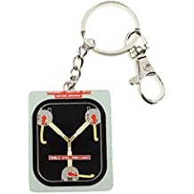 Back to the Future Metal Keychain Flux Capacitor 7 cm Toys Keyrings