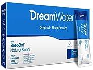 Dream Water Natural Sleep Aid, GABA, MELATONIN, 5-HTP, Powder, Snoozeberry, 30 Count