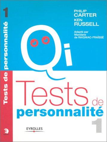 Tests de personnalité, tome 1