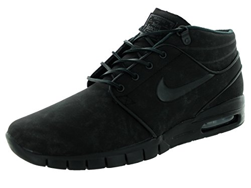 Nike Stefan Janoski Max Mid L, Chaussures de Skate Homme, Taille Noir / gris (noir / noir / anthracite)