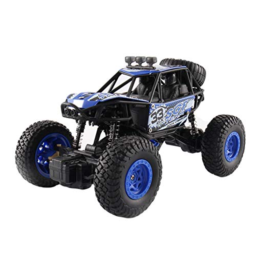 (RC Rennwagen, Mamum, Maßstab 1:20, ferngesteuertes Auto, Geländefahrzeug, 2,4 G, Funkfernbedienung, Autorennen Einheitsgröße blau)