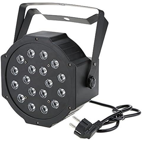 Docooler 25W Par LED DJ DMX512 7 Canali per Festa Disco Mostra AC 90-240V - Staffa Maestro