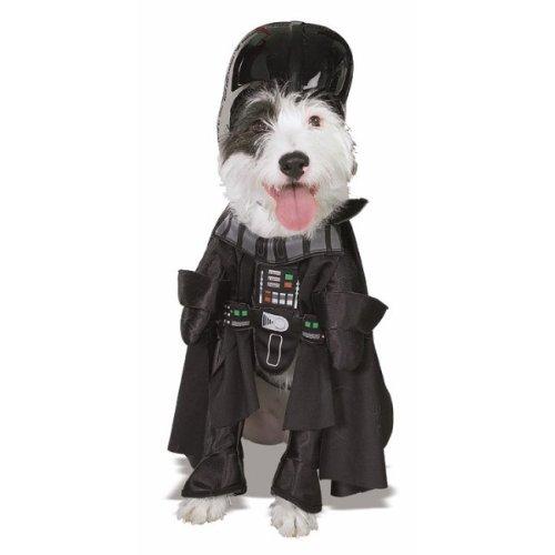 Rubis Kostüm Hund Darth Vader M (Vader-hund Kostüme Darth)