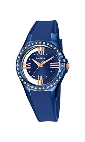 Calypso K5680/6 – Reloj de pulsera Mujer, Plástico, color Azul