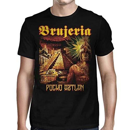 Lustiges T-Shirt das Pocho Aztlan Viva Mexiko-Mode-Grafik-T-Shirt der Brujeria-Männer (T-shirt Brujeria)