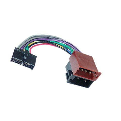 Kabel Adapter Stecker ISO für Autoradio AUDIOSSUN-20Pin -