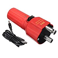 Tradico® 5V Oven Small Barbecue Motor Bbq Grill Red Bracket Rotator Rotisserie 135*70Mm