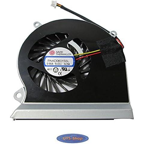 MSI GE60 16GA 16GC PAAD06015SL-N284 Procesador del ordenador portátil ventilador, refrigerador