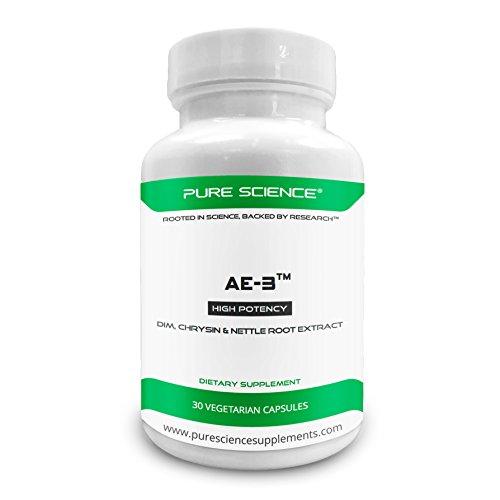 Pure Science AE-3 Chrysin DIM extracto raíz ortiga