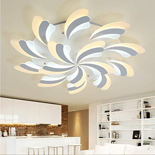 LED Deckenlampe Leuchte 60W 75W 95W einstellbar Memory Funktion durch Fernbedienung A++ WOW-LZ (95)