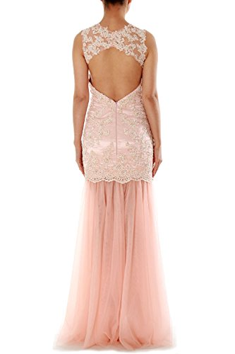 Mermaid Straps Sweetheart Long Lace Tulle Formal Party Dress Prom Evening Gown Lavendel