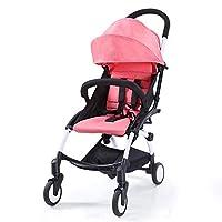 Babytime portable lightweight stroller pink